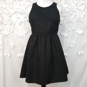 Francesca's Miami Sleeveless Tweed Dress Sz L NWT